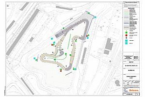 World Rallycross Actualités La nouvelle piste RX de Silverstone dévoilée