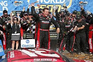 NASCAR Cup Relato da corrida Newman aparece no fim e quebra jejum de vitórias na NASCAR