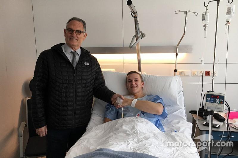Rodrigo pasó por el quirófano tras fracturarse la clavícula