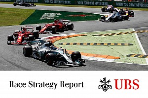 Formula 1 Special feature James Allen on F1: UBS Race Strategy Report - Monza