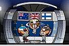 Vídeo: los 'MiniDrivers' le ponen humor al tenso GP de Singapur