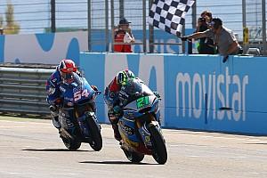 Moto2 Race report Moto2 Aragon: Duel sengit, Morbidelli taklukkan Pasini