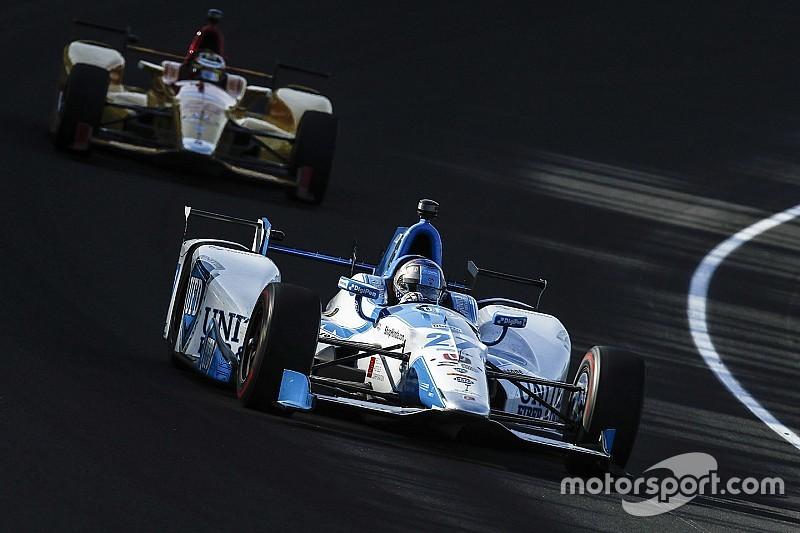Андретти стал быстрейшим в тренировке Indy 500, Алешин 9-й, Алонсо 19-й
