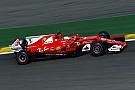 Vettel se hisse en première ligne in extremis