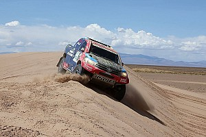 Dakar Breaking news Despres, Roma say Dakar victory chances not over