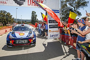 WRC Nieuws Neuville over zege Corsica: