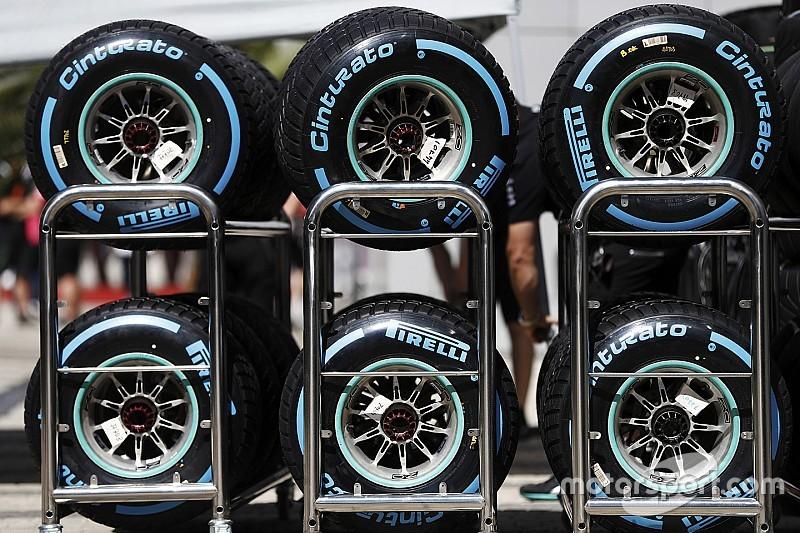 Pirelli проведет тесты дождевой резины на старых машинах