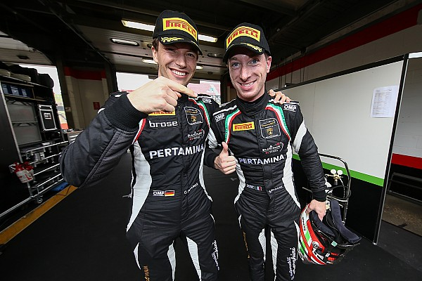 BSS Reporte de la carrera Lamborghini dominó la carrera de clasificación, Juncadella sale 4º