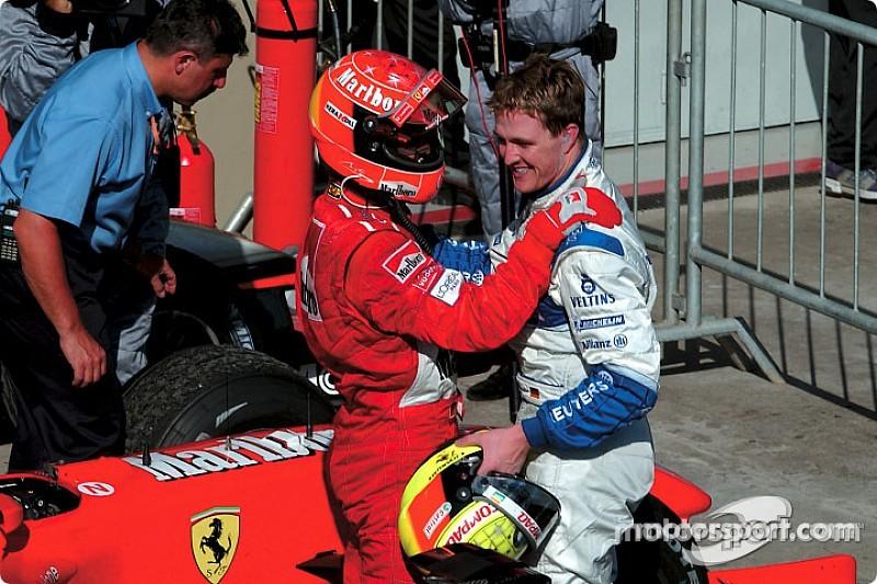 Ralf: Hamilton rekorlarını kırsa bile Michael'ın başardıkları hep