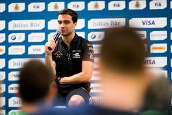Conferenza stampa:  Jérôme d'Ambrosio, Dragon Racing