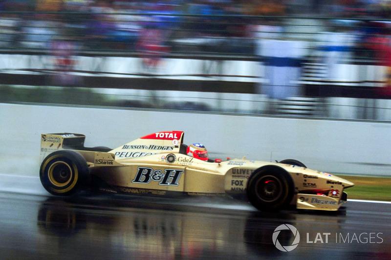 Рубенс Баррікелло, Jordan 196 Peugeot