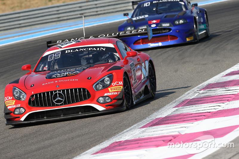 #88 AKKA ASP Mercedes AMG GT3: Renger van der Zande, Felix Serralles, Daniel Juncadella