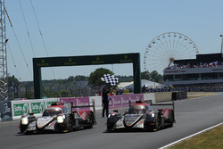 Картатий прапор для #37 DC Racing Oreca 07 Gibson: David Cheng, Alex Brundle, Tristan Gommendy and #