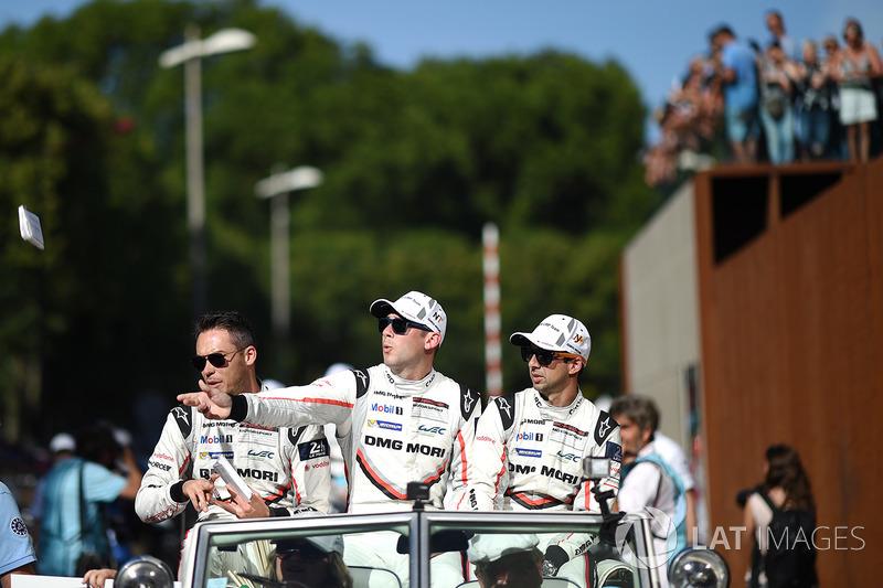 Andre Lotterer, Nick Tandy, Neel Jani, Porsche Team
