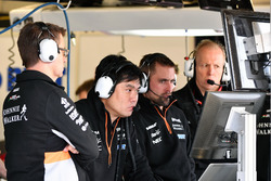 Jun Matsuzaki, Sahara Force India F1 Team Ingeniero Senior de neumático