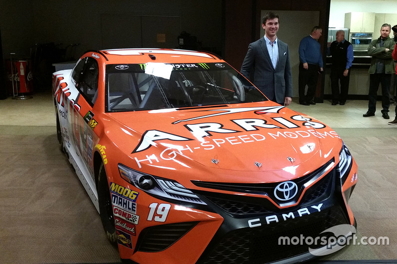 9. Даниэль Суарес, Monster Energy Nascar Cup,  Joe Gibbs Racing Toyota