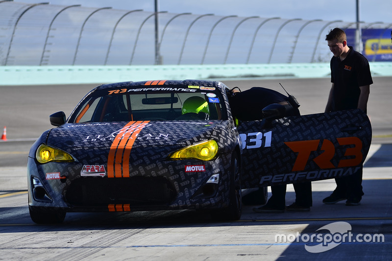 #331 MP3B Scion FRS driven by Orlando Cabezas & Andrew Lafaye of TR3 Performance