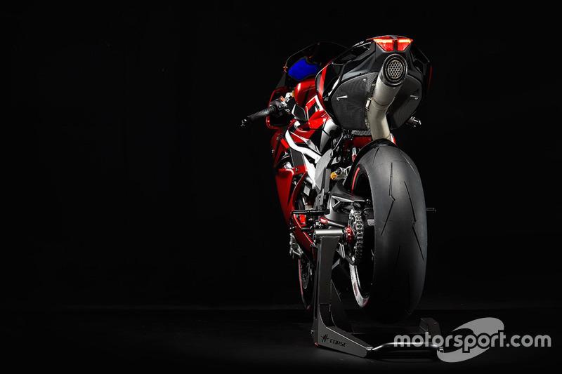 Lewis Hamilton tasarımlı MV Agustta F4 LH44
