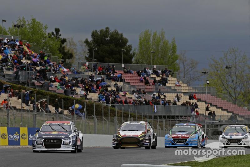 Toomas Heikkinen, EKS, Audi S1 EKS RX Quattro, führt