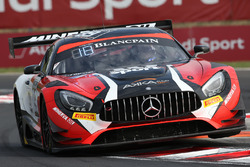 #89 Akka ASP Mercedes AMG GT3: Christophe Bourret, Jean-Philippe Belloc