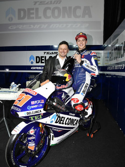 Fabio Di Giannantonio, Gresini Racing Team with Fausto Gresini, Team Manager