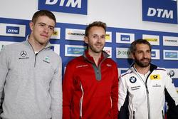 Прес-конференція: Пол Ді Реста, Mercedes-AMG Team HWA, Mercedes-AMG C63 DTM, Рене Раст, Audi Sport Team Rosberg, Audi RS 5 DTM, Тімо Глок, BMW Team RMG, BMW M4 DTM