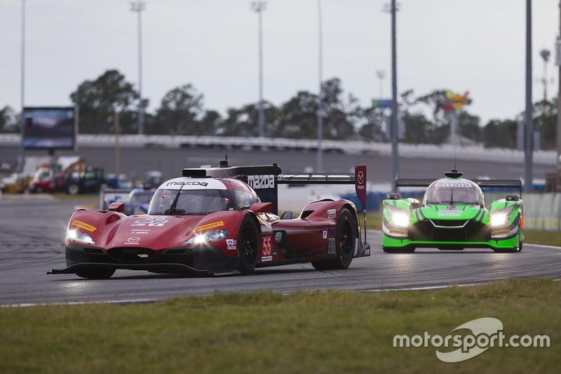 #55 Mazda Motorsports Mazda DPi: Jonathan Bomarito, Tristan Nunez, Spencer Pigot