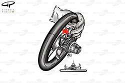 Ferrari F1-89 (640) steering whell