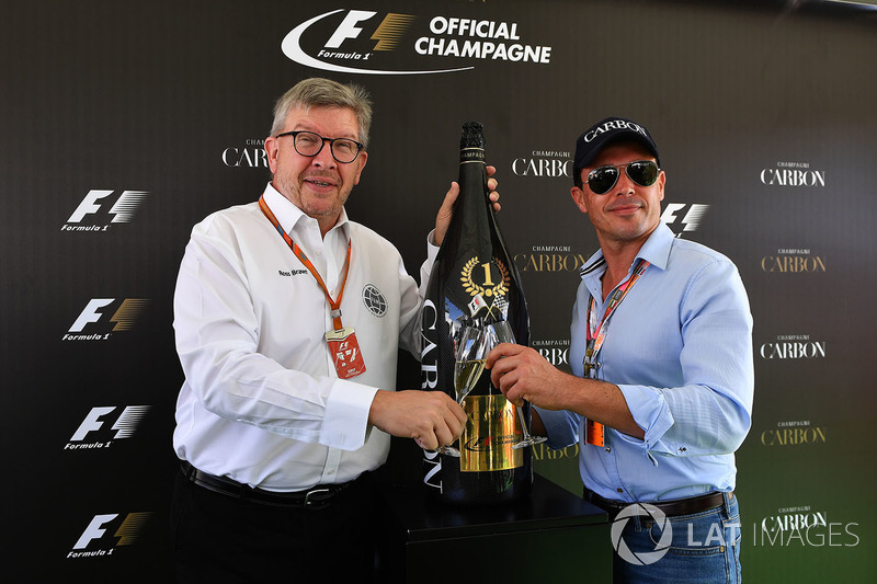 Росс Браун, керуючий директор Motor Sports F1, Алекс Мей