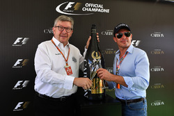 Ross Brawn, Formula One Managing Director of Motorsports and Alex Mea