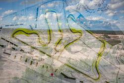 Carte du tracé du KymiRing