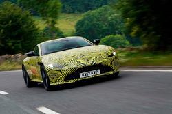 Photo espion de l'Aston Martin V8 Vantage 2019