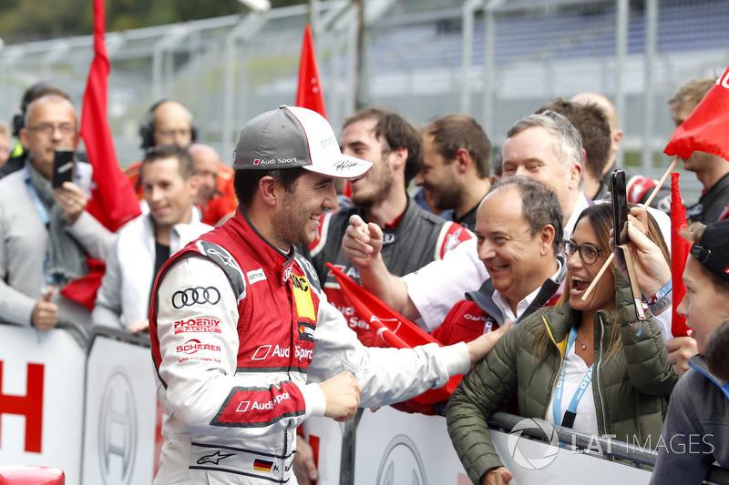 Майк Роккенфеллер, Audi Sport Team Phoenix, Audi RS 5 DTM celebrate