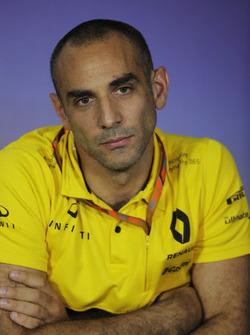 Cyril Abiteboul, Direktör, Renault Sport F1 Team, basın toplantısı