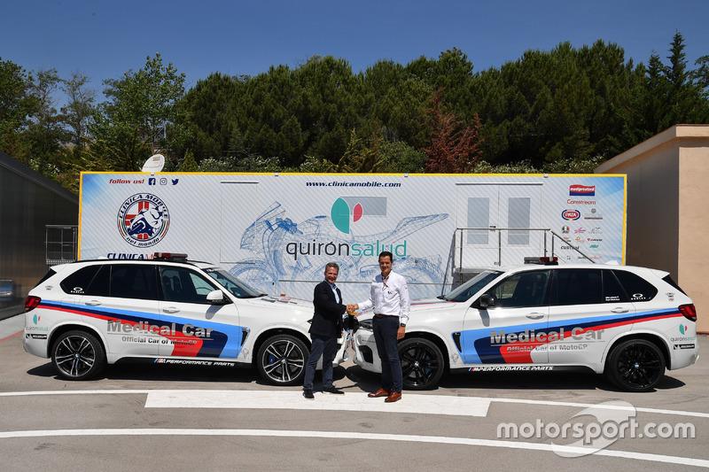 Julio Fernandez-Llamazares and Pau Serracanta, MotoGP Medical Direction