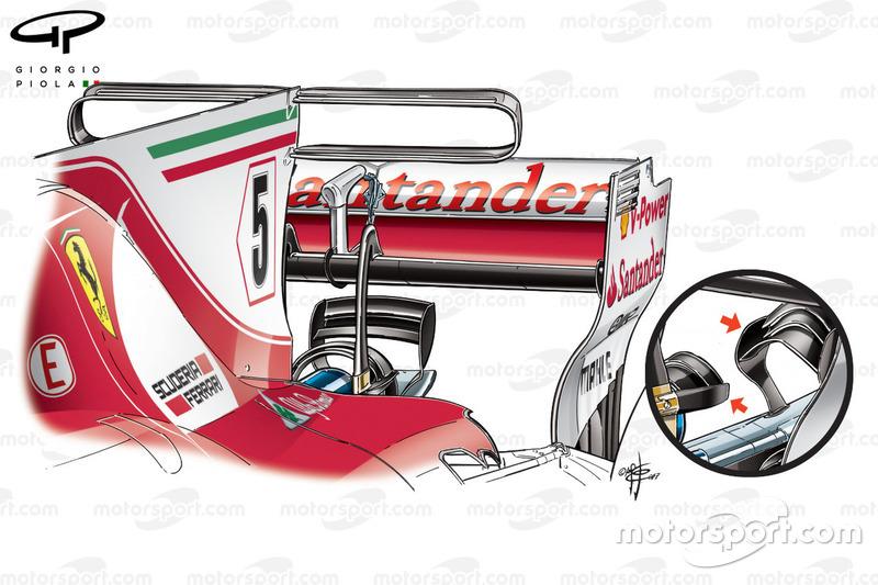 Monkey seat del Ferrari SF70H , GP de Mónaco
