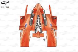 Ferrari F2004 engine cover