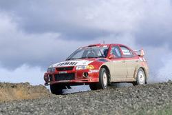 Tommi Makinen, Risto Mannisenmaki, Ralliart Mitsubishi Lancer Evo6