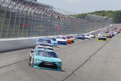 Kyle Benjamin, Joe Gibbs Racing Toyota, William Byron, JR Motorsports Chevrolet