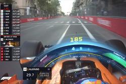 Grafica TV Halo F1, McLaren