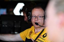 Mark Slade, ingénieur Renault Sport F1 Team