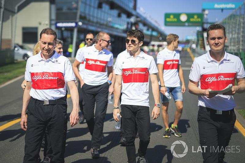 Шарль Леклер, Alfa Romeo Sauber F1 Team