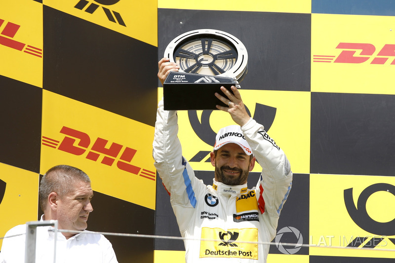 Podium: second place Timo Glock, BMW Team RMG