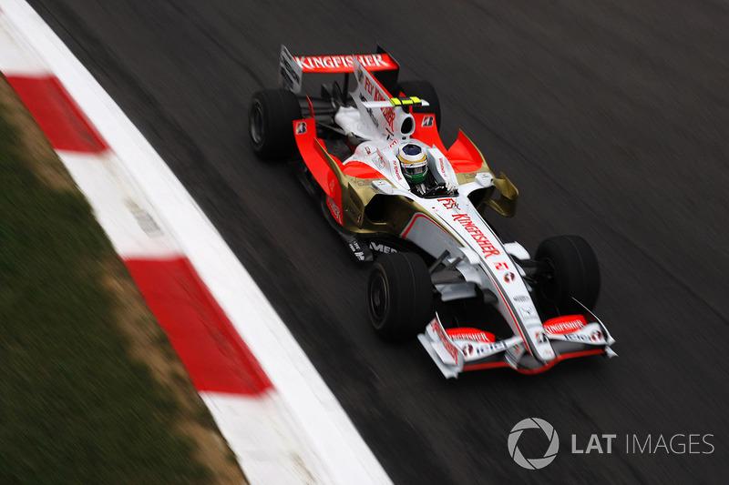 Джанкарло Физикелла, Force India (0 очков)