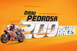 Dani Pedrosa: 200 MotoGP-Rennen