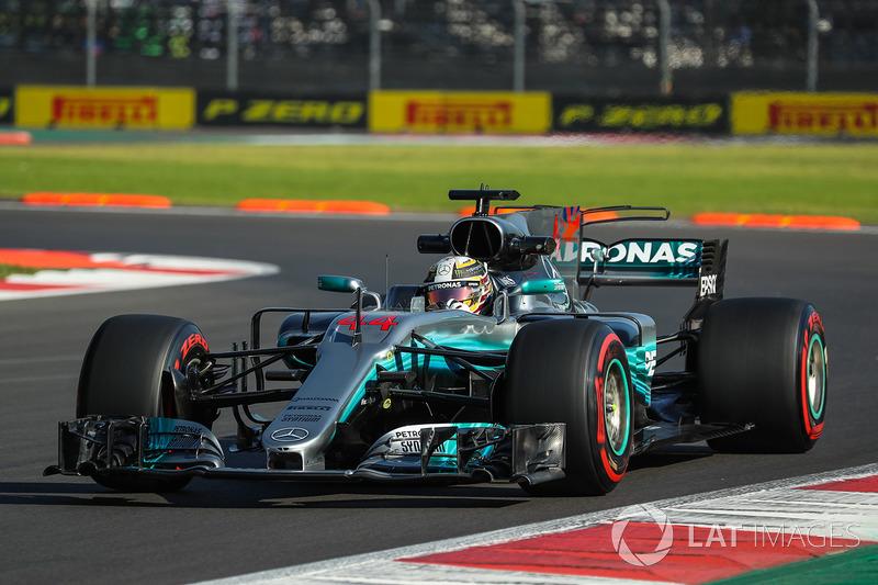 2. Lewis Hamilton, Mercedes AMG F1 W08