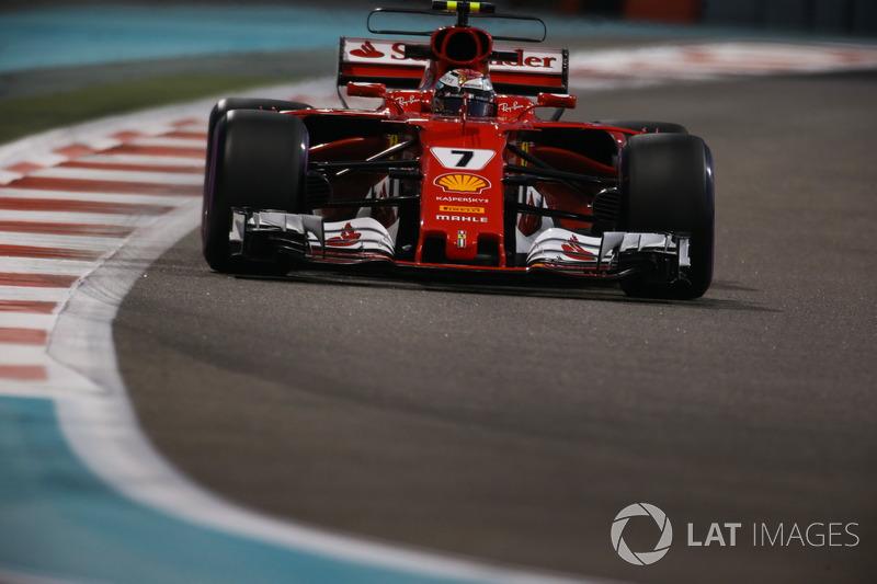 Räikkönen, nachdem er in Q2 aufgehalten wurde