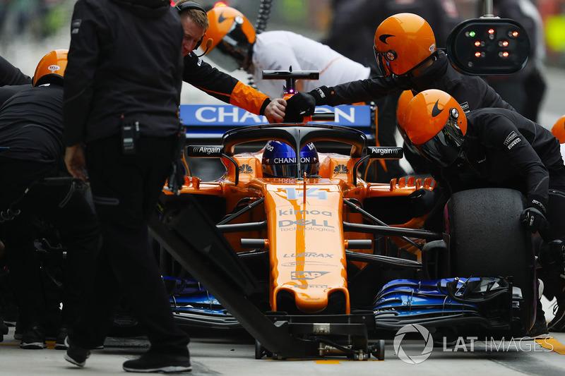12 місце — Фернандо Алонсо, McLaren — 39