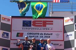 Felipe Drugovich, Matheus Iorio e Cameron Das