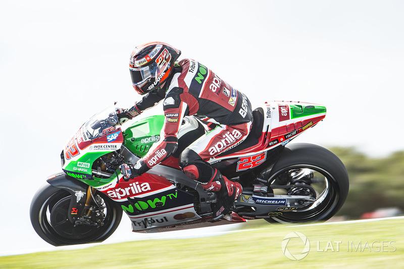 20. Sam Lowes, Aprilia Racing Team Gresini